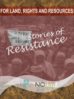 For Land, Rights and Resources: Stories of Resistance
