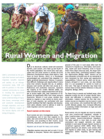 Rural Women and Migration