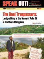 The Real Tresppasers: Landgrabbing in the name of Palm Oil in Southern Philippines
